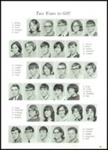 1968 Lowell High School Yearbook Page 54 & 55