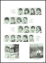 1968 Lowell High School Yearbook Page 58 & 59