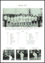 1968 Lowell High School Yearbook Page 106 & 107