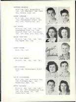 1947 Hillcrest High School Yearbook Page 20 & 21