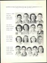 1947 Hillcrest High School Yearbook Page 38 & 39