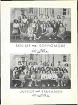 1947 Hillcrest High School Yearbook Page 72 & 73