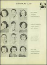 1952 Moran High School Yearbook Page 16 & 17