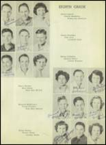 1952 Moran High School Yearbook Page 20 & 21