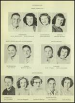 1952 Moran High School Yearbook Page 36 & 37