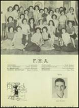1952 Moran High School Yearbook Page 38 & 39