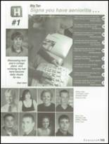 2001 Hutchinson High School Yearbook Page 168 & 169