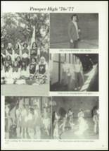 1977 Prosper High School Yearbook Page 76 & 77