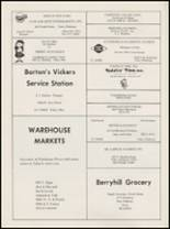 1968 Berryhill High School Yearbook Page 138 & 139