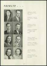 1948 Hillsdale High School Yearbook Page 20 & 21