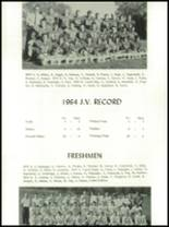 1965 Central High School Yearbook Page 50 & 51