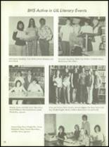 1975 Baird High School Yearbook Page 102 & 103