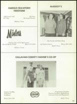 1975 Baird High School Yearbook Page 142 & 143