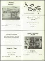 1975 Baird High School Yearbook Page 148 & 149