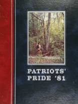 1981 Yearbook Lake Brantley High School