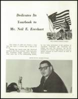 1965 Central High School Yearbook Page 10 & 11
