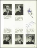 1965 Central High School Yearbook Page 92 & 93