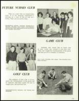 1965 Central High School Yearbook Page 168 & 169