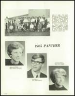 1965 Central High School Yearbook Page 218 & 219