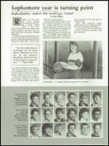 1987 Holdrege High School Yearbook Page 30 & 31