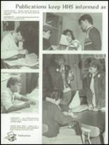 1987 Holdrege High School Yearbook Page 108 & 109