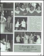 2001 Mother Cabrini High School Yearbook Page 128 & 129