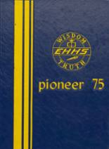 1975 Yearbook East Haven High School