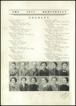 1937 Redstone Township High School Yearbook Page 14 & 15