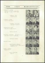 1937 Redstone Township High School Yearbook Page 20 & 21