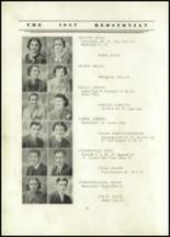 1937 Redstone Township High School Yearbook Page 22 & 23