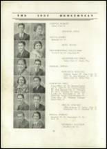 1937 Redstone Township High School Yearbook Page 24 & 25