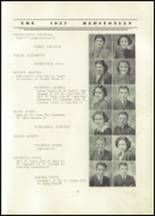1937 Redstone Township High School Yearbook Page 28 & 29