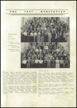 1937 Redstone Township High School Yearbook Page 34 & 35
