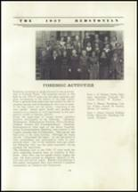 1937 Redstone Township High School Yearbook Page 40 & 41