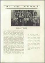 1937 Redstone Township High School Yearbook Page 42 & 43