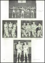 1965 Albion High School Yearbook Page 100 & 101