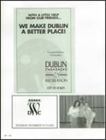 1992 Dublin High School Yearbook Page 240 & 241