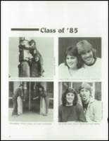 1985 Mt. Tahoma High School Yearbook Page 16 & 17