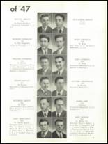 1947 Mt. Carmel High School Yearbook Page 22 & 23