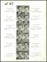 1947 Mt. Carmel High School Yearbook Page 24 & 25