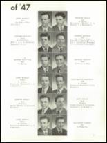 1947 Mt. Carmel High School Yearbook Page 30 & 31