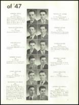 1947 Mt. Carmel High School Yearbook Page 40 & 41