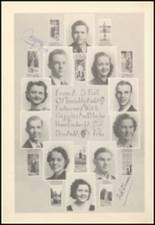 1939 Mineral Wells High School Yearbook Page 20 & 21