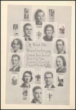 1939 Mineral Wells High School Yearbook Page 22 & 23