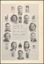 1939 Mineral Wells High School Yearbook Page 24 & 25