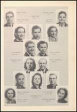 1939 Mineral Wells High School Yearbook Page 30 & 31