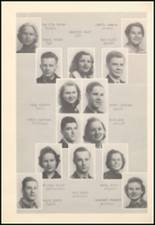 1939 Mineral Wells High School Yearbook Page 34 & 35
