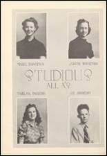 1939 Mineral Wells High School Yearbook Page 56 & 57