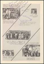 1939 Mineral Wells High School Yearbook Page 72 & 73