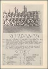 1939 Mineral Wells High School Yearbook Page 80 & 81
